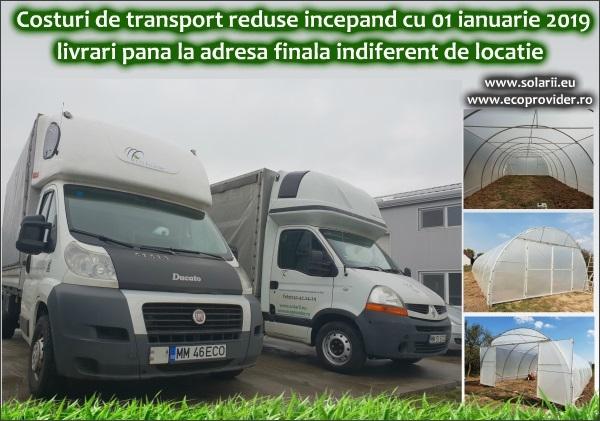Costuri de transport reduse 2019
